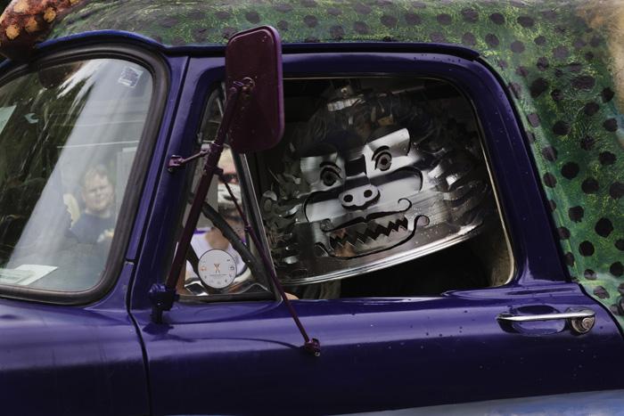 art cars - monster