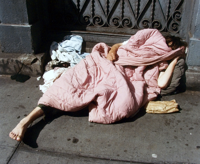 sleeping homeless 10