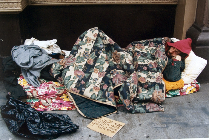 sleeping homeless 7