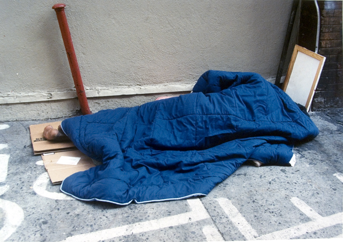 sleeping homeless 8